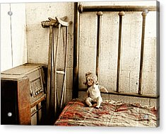 Guest Room Acrylic Print by Barbara D Richards