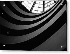 Guggenheim Inside 2 Acrylic Print by Becky Kozlen