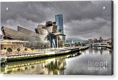 Guggenheim Museum Bilbao  Acrylic Print by Ines Bolasini