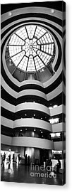 Guggenheim Museum Ground Floor Acrylic Print by Az Jackson