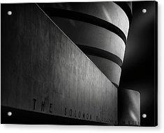 Guggenheim, Ny Acrylic Print
