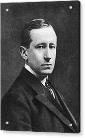 Guglielmo Marconi Acrylic Print by Miriam And Ira D. Wallach Division Of Art, Prints And Photographs/new York Public Library