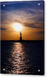 Guiding Light Acrylic Print by Joann Vitali