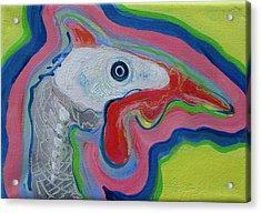 Guinea Hen Acrylic Print