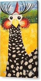 Guinea Love Acrylic Print by Madison Latimer
