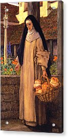 Guinevere Acrylic Print by Eleanor Fortescue Brickdale