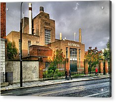 Guinness Brewery Acrylic Print by Yury Malkov
