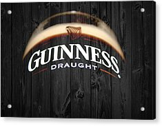 Guinness Acrylic Print by Dan Sproul