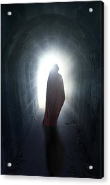 Guise In Tunnel Acrylic Print by Joana Kruse