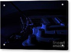 Guitar Blues Acrylic Print