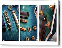 Acrylic Print featuring the photograph Guitar Life by Joy Watson