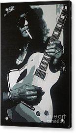 Guitar Man Acrylic Print by ID Goodall