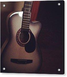 #guitar #music #happiness #love Acrylic Print