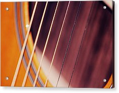 Guitar One Acrylic Print