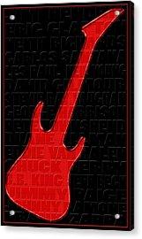 Guitar Players 1 Acrylic Print