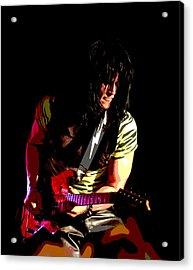 Guitar Shred Acrylic Print by James Hammen