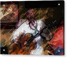 Guitar Singer Acrylic Print