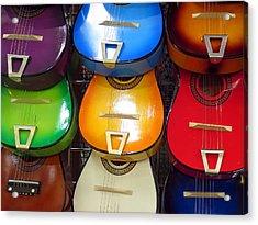 Guitaras San Antonio  Acrylic Print