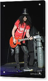 Guitarist Slash Saul Hudson Acrylic Print by Concert Photos