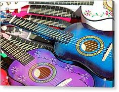 Guitars Acrylic Print