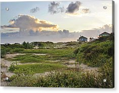 Gulf Coast Galveston Tx Acrylic Print by Christine Till