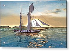 Gulf Of Mexico Area In The World Playground Scenery Project  Acrylic Print