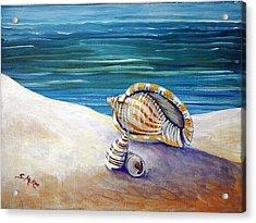 Gulf Shores And Shells II Acrylic Print