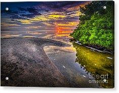 Gulf Stream Acrylic Print by Marvin Spates