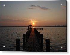 Gulf Sunrise 1 Acrylic Print