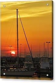 Gulfport Harbor Acrylic Print