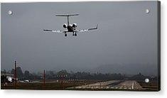 Gulfstream Approach Acrylic Print