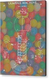 Gumball Machine Acrylic Print by Dan Sproul