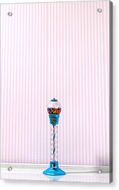Gumball Machine In A Candy Store Acrylic Print by Allan Swart