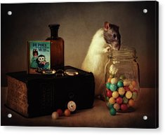 Gumballs (published In The New 1x Book memento.) Acrylic Print