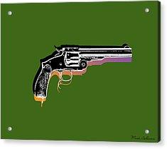Gun 3 Acrylic Print by Mark Ashkenazi
