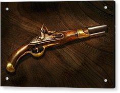 Gun - Pistols At Dawn Acrylic Print by Mike Savad