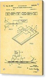 Gundlach Photocopier Patent Art 1957 Acrylic Print by Ian Monk