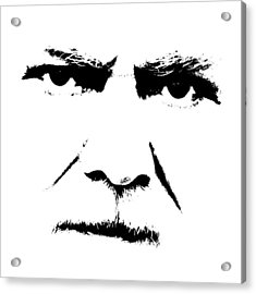 Gunnar Hansen Acrylic Print by Tommytechno Sweden