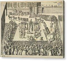 Gunpowder Plotters Executed Acrylic Print