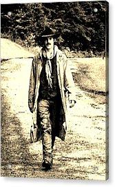 Acrylic Print featuring the photograph Gunslinger by B Wayne Mullins