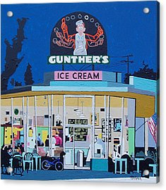 Gunthers Number 4 Acrylic Print by Paul Guyer
