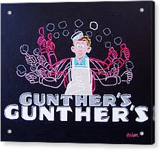 Gunthers Number 5 Acrylic Print by Paul Guyer