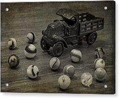 Gus's Truck Acrylic Print by Wayne Meyer