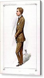 Gustav Hamel Acrylic Print by British Library