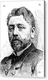 Gustave Eiffel Acrylic Print