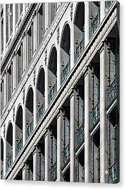 Gwynne Building Exterior Acrylic Print by Rob Amend