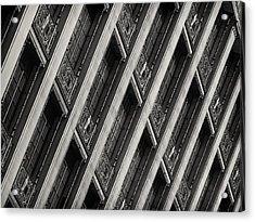 Gwynne Building Acrylic Print by Rob Amend