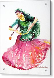 Gypsy Dancer Acrylic Print