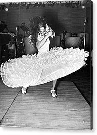 Gypsy Dancer Carmen Amaya Acrylic Print by Underwood Archives