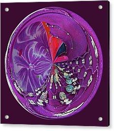Gypsy Orb Acrylic Print by Paulette Thomas